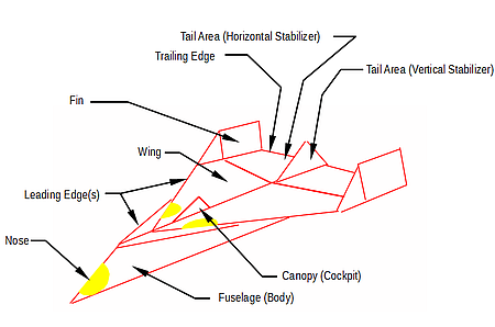 paper air plane parts rh patsplanes com Paper Plane Plans how to make paper plane diagrams