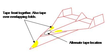 Paper Air Plane T And Flight Adjustment Instructions